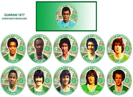 136 - Guarani 1977 - Campeonato Brasileiro
