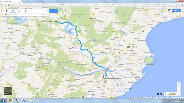 Pradhanpat, Orissa in Maps