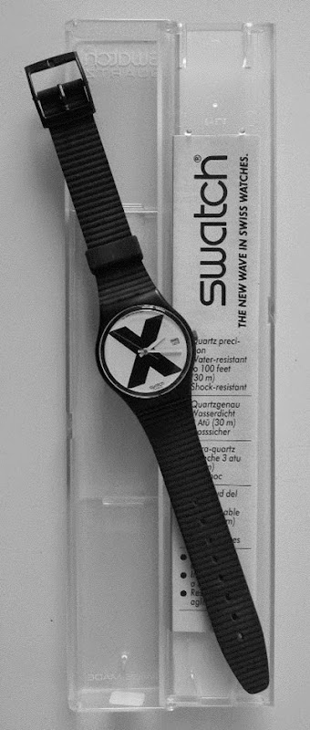 X-Rated Swatch with case and instructions