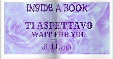 INSIDE A BOOK TI ASPETTAVO