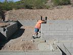 Installing courtyard drainage 11-2