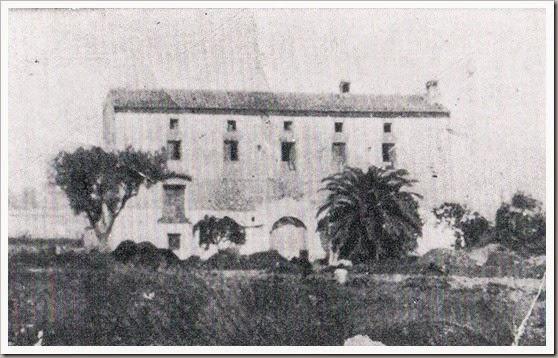 1950 - Alquería Cremá (actual estadio del Levante U.D.) Ca. 1950
