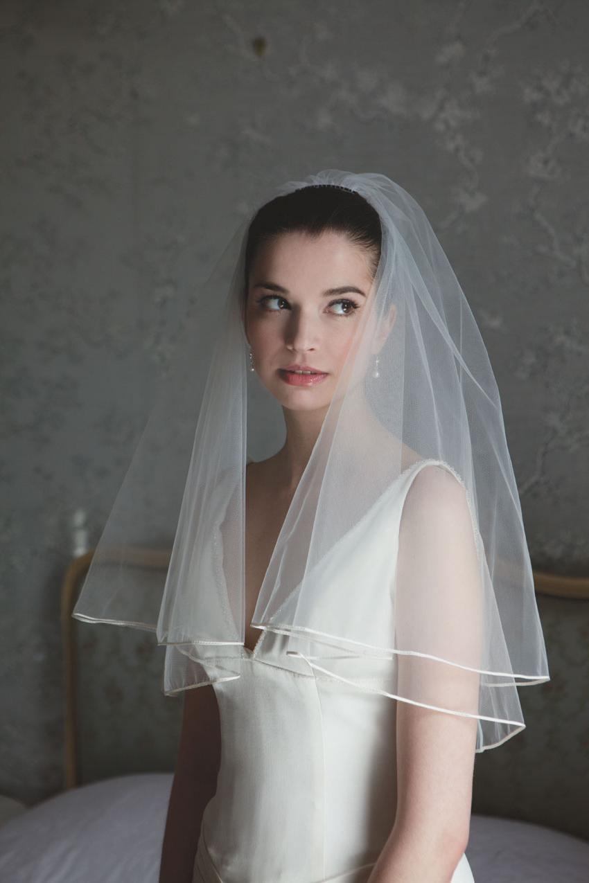 Tosca Long Wedding Veil