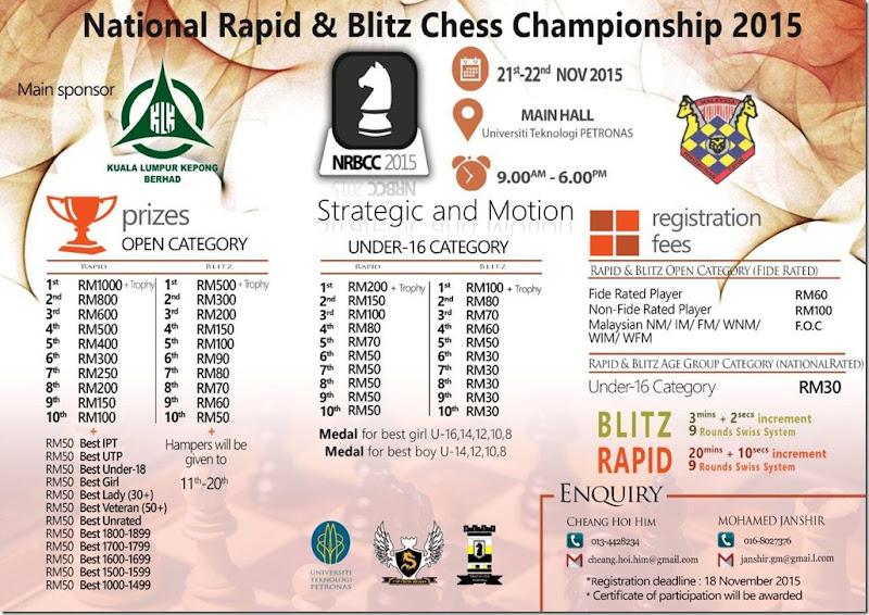 NRBCC2015 Poster - UTP Perak