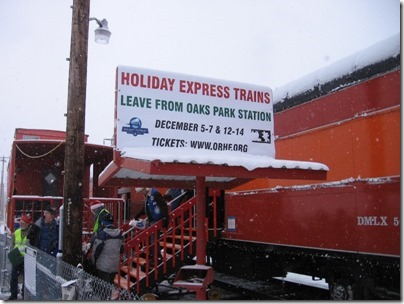 IMG_4782 Holiday Express Sign at Oaks Park in Portland, Oregon on December 14, 2008