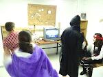 Scouts bailando en la Wii