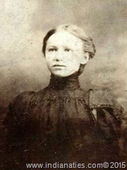 Mary Anna (Niehaus) Hoskinson, about 28