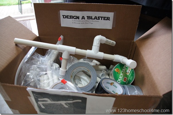make your own blaster great for star wars birthday