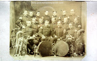 The corps of the trumpeters from 1. Pommersches Feldartillerie-Regiment Nr. 2