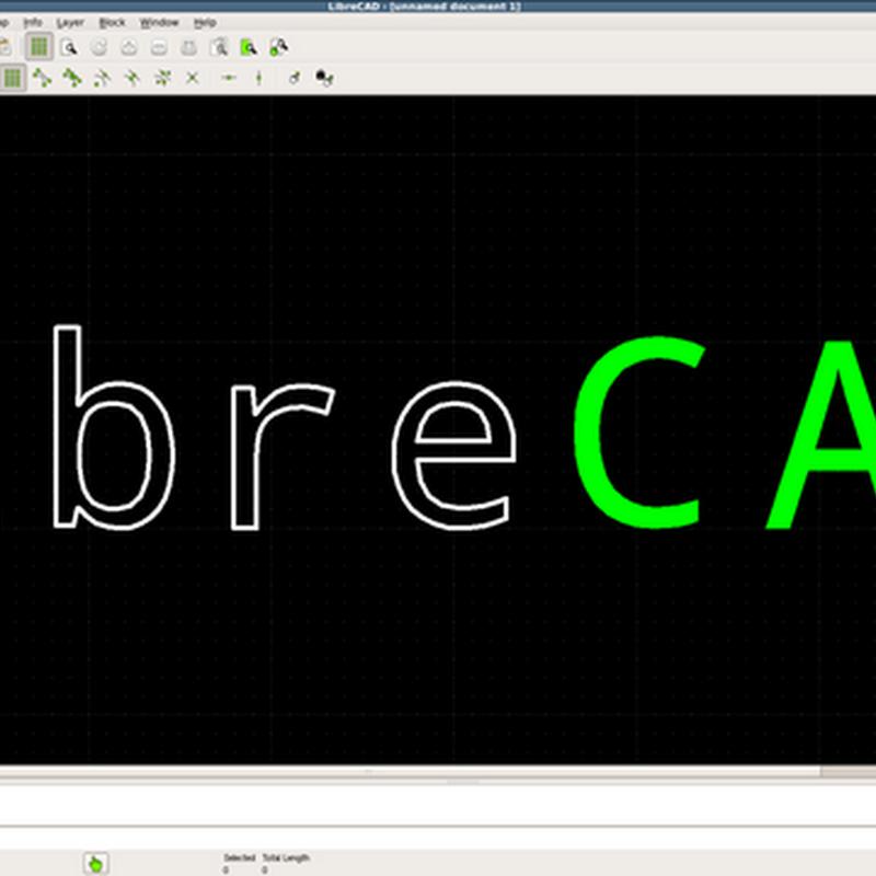 Dopo due anni di sviluppo, LibreCAD viene ufficialmente distribuito in versione finale.