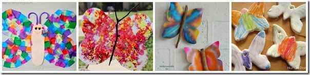 beautiful butterfly crafts for preschool