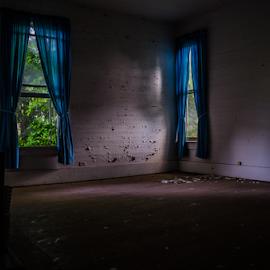 Soft Lights by Trey Walker - Novices Only Objects & Still Life ( blue, nikon, abandon, light, abandoned )