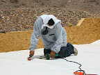 Shorty heating roof membrane 6/11