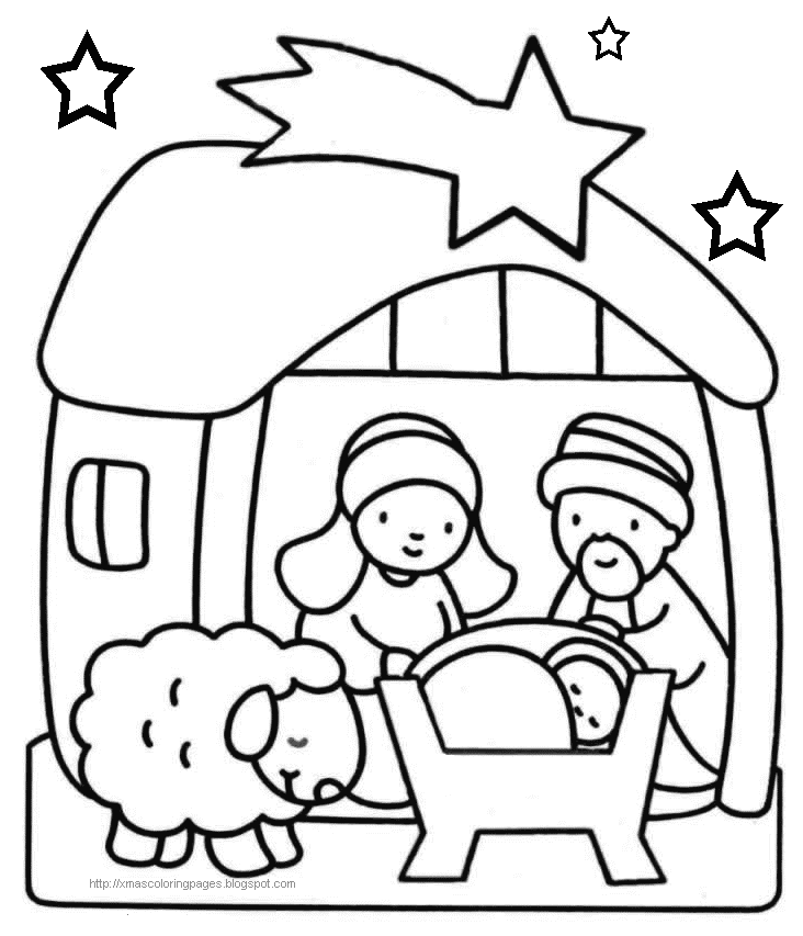 printable coloring pages for christmas - Free Christmas Tree Coloring Pages (Printable)