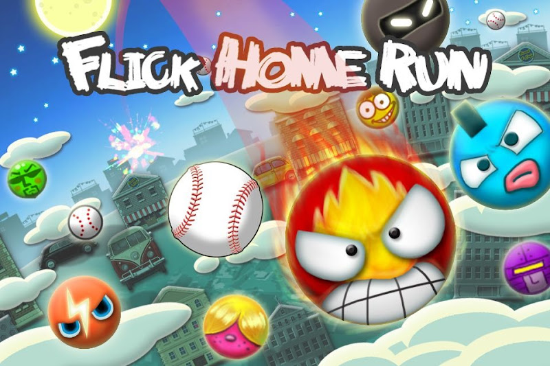 flick home run ios game