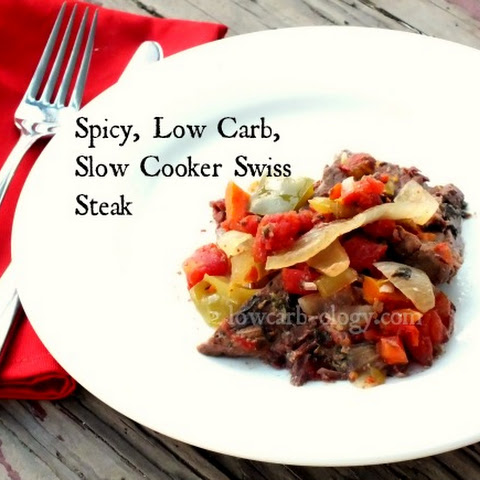 Low Carb Slow Cooker Spicy Swiss Steak Recipe (phase 1, induction)