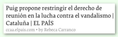 Font: El País