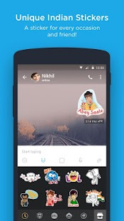 hike messenger - Hide Chat, Call, Stickers, Wallet- screenshot