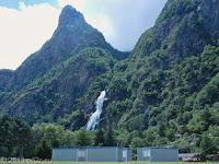Im Tal der Rhone nach Martigny.