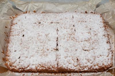 пирог с бананами из песочного теста