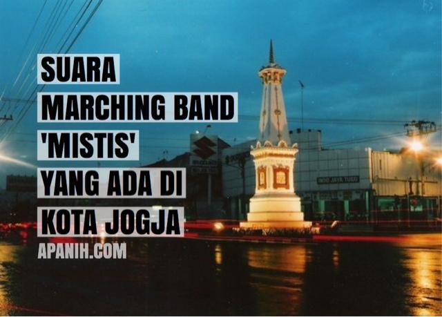 suara marching band mistis yang ada di kota jogja