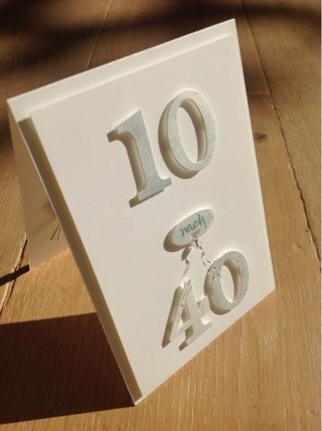 Mimi art 10 nach 40 - Geburtstagsideen 50 ...