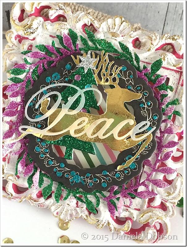 Peace frame close 2 by Daniela Dobson