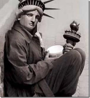 Estatua mendiga