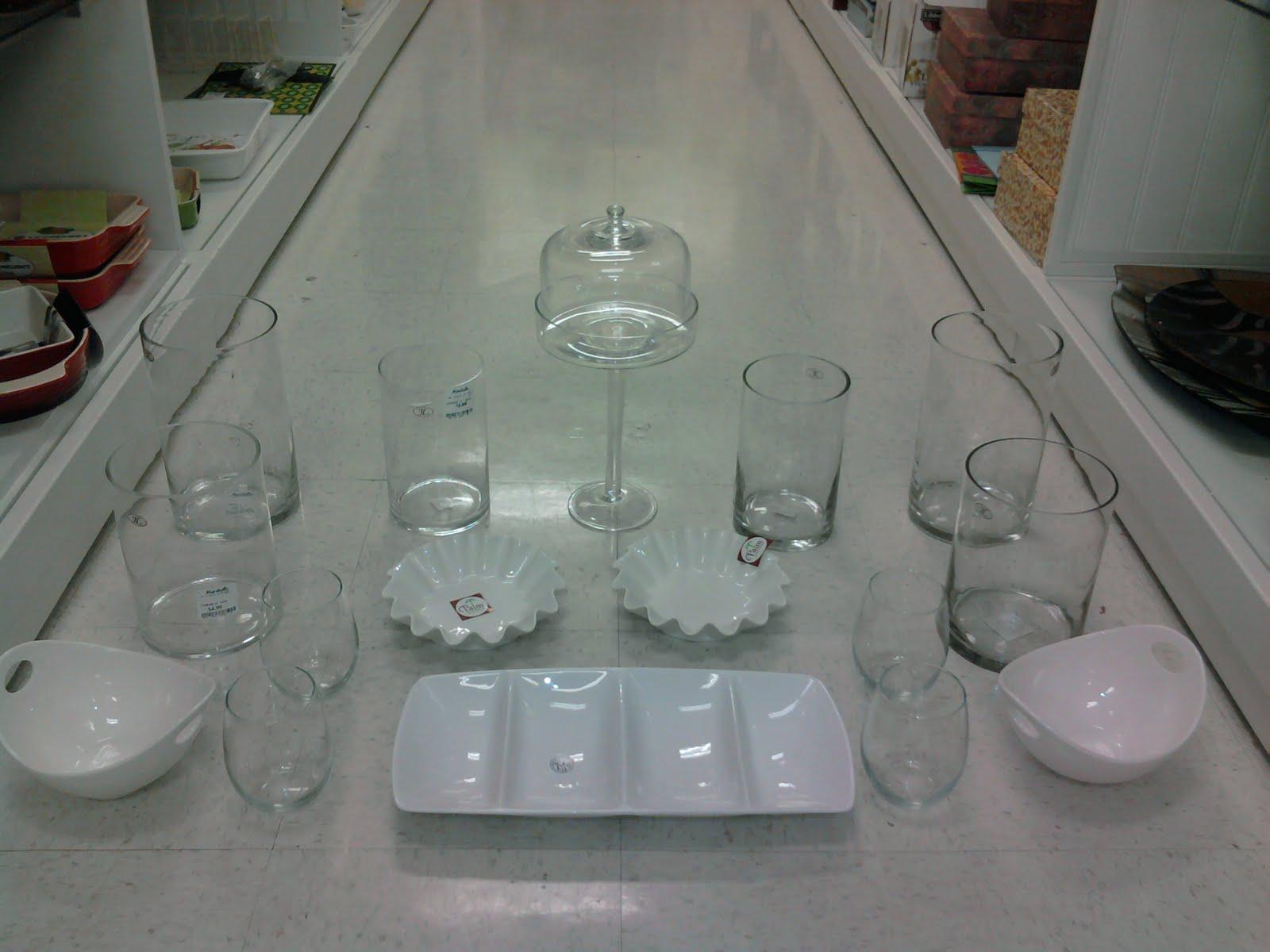 Candy Bar jar set up: