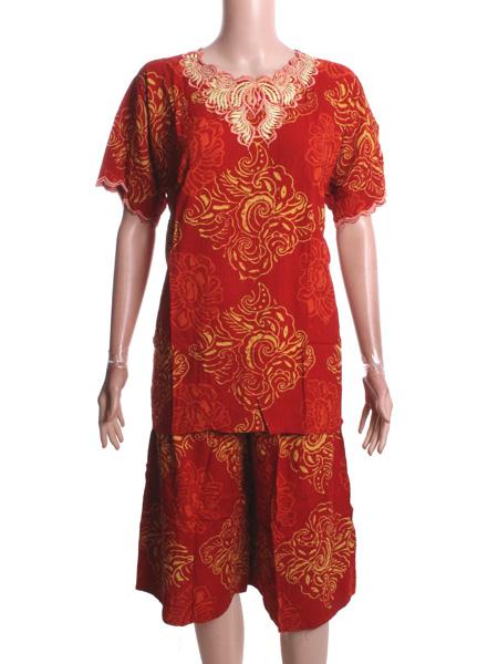 Grosir Batik Jogja Setelan Batik Cap Nisa Jumbo