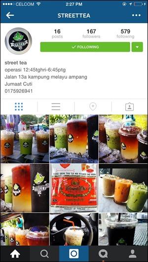 Blog Nisakay - Street Tea Ampang 4