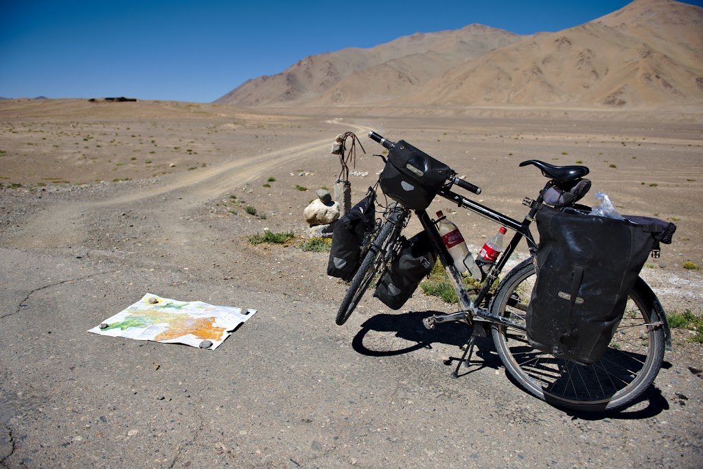 The entrance on the Bartang valley, the shortest and probably the hardest way of crossing the Pamirs. With 300 kilometers of bad roads ahead and and with days of complete solitude it's sometimes good to have a moment and think if you actually want to start into the small adventure.