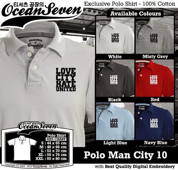 POLO Man City Manchester City 10 Premier League distro ocean seven