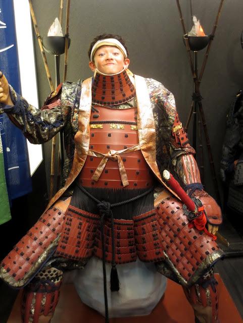 Eidan in the Dazaifu samurai shop