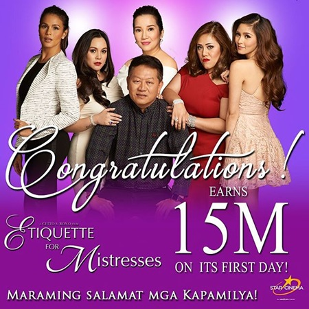 Etiqueet For Mistresses - P15M opening day