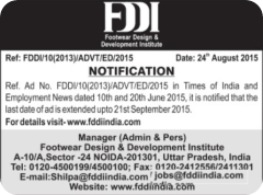 FDDI Executive Director Notification