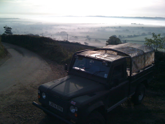 A drive up the hillside and looking East over the Valley it's even more spectacular...