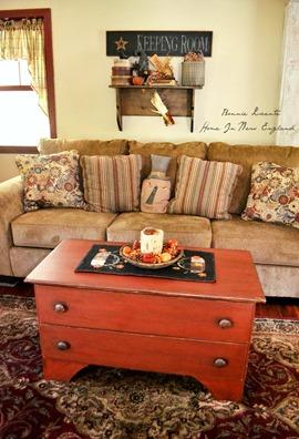 fall  livingroom