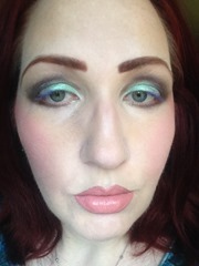 Wearing NYX Cosmetics Prismatic Eyeshadows Look 3_3