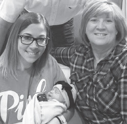 Image of Kelly, the Baby, and Tracey