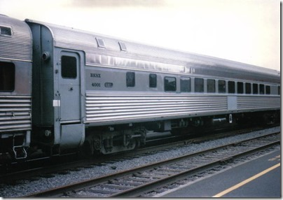 BKSX Coach #4001 at Union Station in Portland, Oregon on May 11, 1996