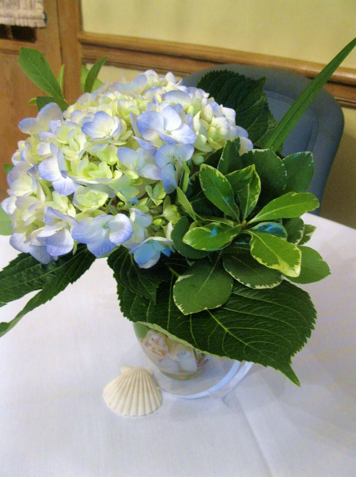 Hydrangea Arrangements filled
