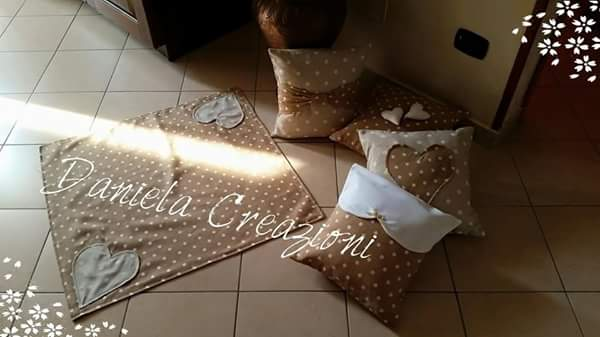 Daniela creazioni cuscini shabby chic for Cuscini country chic