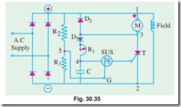 Speed Control Of D C Motors Thyristor Speed Control Of