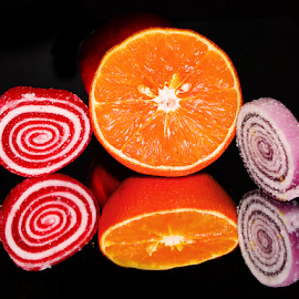 candys with orange by LADOCKi Elvira - Food & Drink Candy & Dessert ( orange, candys )