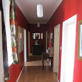 Red Hallway in Main Wing