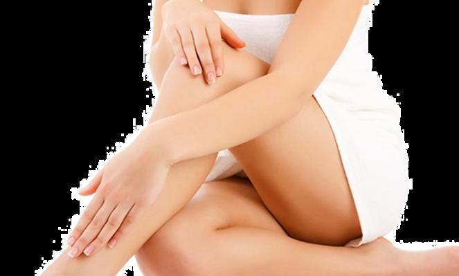 pernas depiladas