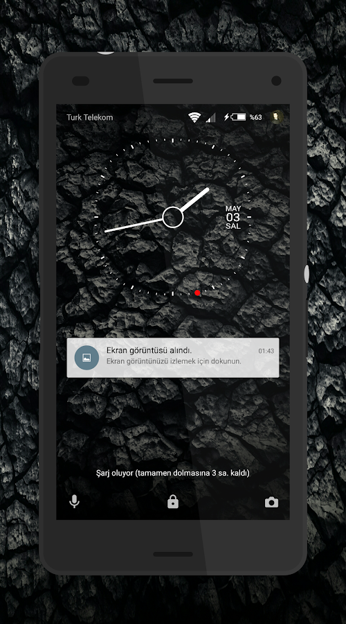 Theme MarshBlack For Xperia Screenshot