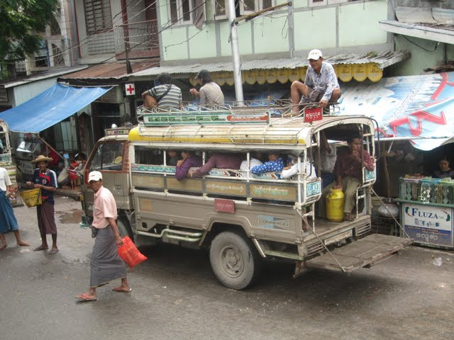 pickup Myanmar