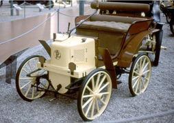 Panhard 1897 prototype voiture des jardins